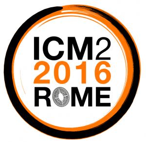 logo icm2016rome